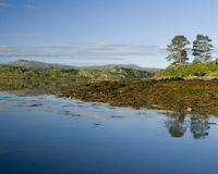 Море острова Стоковое Изображение