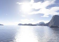 море островов Стоковое Фото