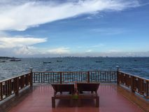 Море Паттайя Стоковое фото RF