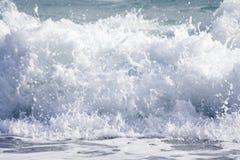 море пены брызгает Стоковые Фотографии RF