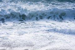море пены брызгает Стоковое фото RF