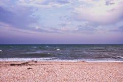 Море перед штормом стоковые фотографии rf