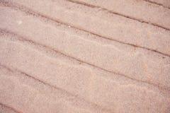 Море песка в текстуре пляжа Стоковая Фотография