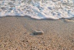 море песка пляжа Стоковые Фотографии RF