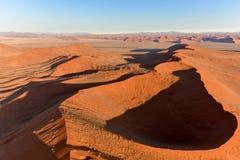Море песка Namib - Намибия Стоковое фото RF