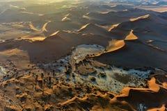 Море песка Namib - Намибия Стоковые Изображения RF