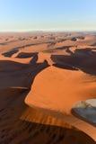Море песка Namib - Намибия Стоковые Фото