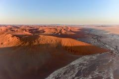 Море песка Namib - Намибия Стоковое Изображение RF