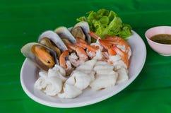 море петрушки еды рыб зажаренное в духовке плитой Стоковые Фотографии RF