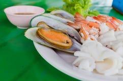 море петрушки еды рыб зажаренное в духовке плитой Стоковое Изображение RF