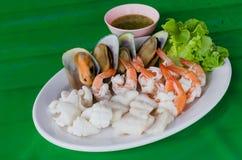 море петрушки еды рыб зажаренное в духовке плитой Стоковое Фото