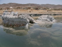 море пляжа мертвое Стоковая Фотография