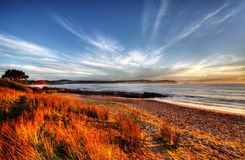 море пляжа Стоковое фото RF