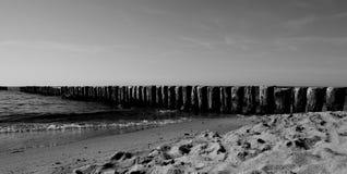 море пляжа Стоковое Изображение