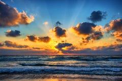 Море поднимает Стоковые Изображения