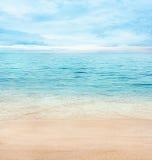 море предпосылки Стоковая Фотография