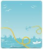 море предпосылки Стоковое фото RF