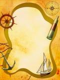 море приключения иллюстрация вектора