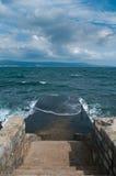 море пристани Стоковые Фотографии RF