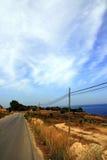 море проселочной дороги Стоковое Изображение RF