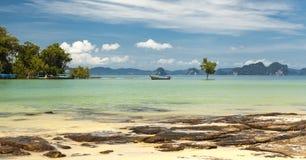 море пляжа красивейшее Острова Таиланда Стоковая Фотография RF