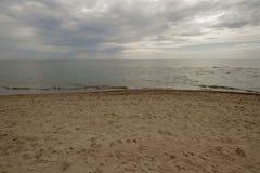 море пляжа красивейшее Стоковое Изображение