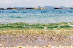 море пляжа тропическое Стоковые Изображения