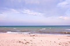 Море Пляж шторм Стоковая Фотография RF