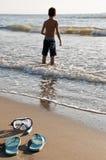 море ребенка стоковое изображение