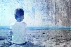 море ребенка стоковые изображения