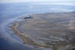 море реки к Стоковая Фотография