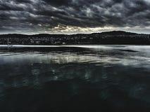 Море редактируемое драмой Стоковые Фото