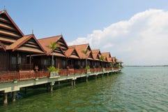 море роскошного курорта тропическое Стоковое Фото