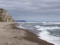 Море России залива моря Японии Стоковые Фото