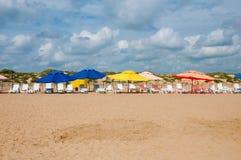 море России черноты пляжа anapa Стоковые Изображения