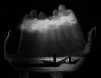 море руки Стоковое фото RF