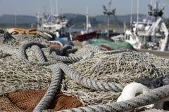 море рыболовных сетей Стоковая Фотография