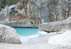 Море Сардинии, летних каникулов в Италии Стоковое Изображение