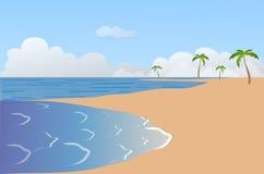 море свободного полета иллюстрация штока