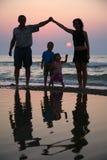 море семьи Стоковые Фотографии RF