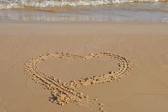 море сердца Стоковые Фотографии RF