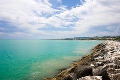 море скалы Стоковые Изображения RF