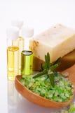 море соли масла органическое Стоковая Фотография