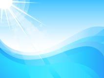 море солнечное Стоковые Фото