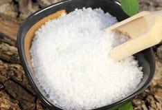 море соли состава предпосылки закрытое Стоковые Фотографии RF