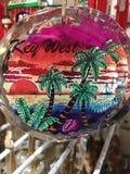 Море солнца Key West более palmier стоковая фотография