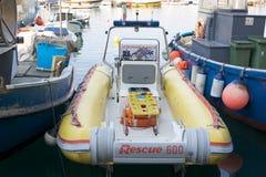 море спасения Италии camogli Стоковые Фотографии RF