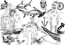 Море, старые соли бесплатная иллюстрация