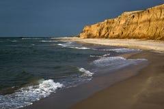 Море стоить с скалами глины Стоковое Изображение RF