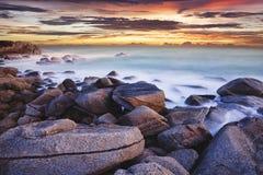 море сумрака тропическое Стоковые Изображения